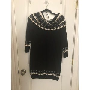 NWT Off-the-shoulder Sweater Dress
